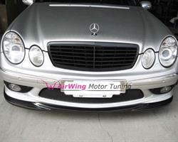 airwing co ltd products w211 e55 godhand style carbon front lip spoiler. Black Bedroom Furniture Sets. Home Design Ideas